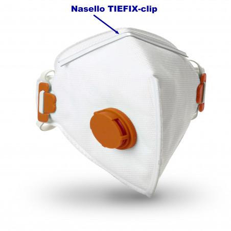 Nasello stringinaso TIEFIX-Med doppio filo per mascherine a conca