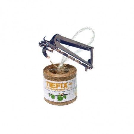 TIEFIX-HD plyers 3.0 & TIEFIX-2K biodegradable twist-tie ribbon
