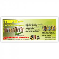 TIEFIX 500 m. Jumbo Belt Dispenser for tyers