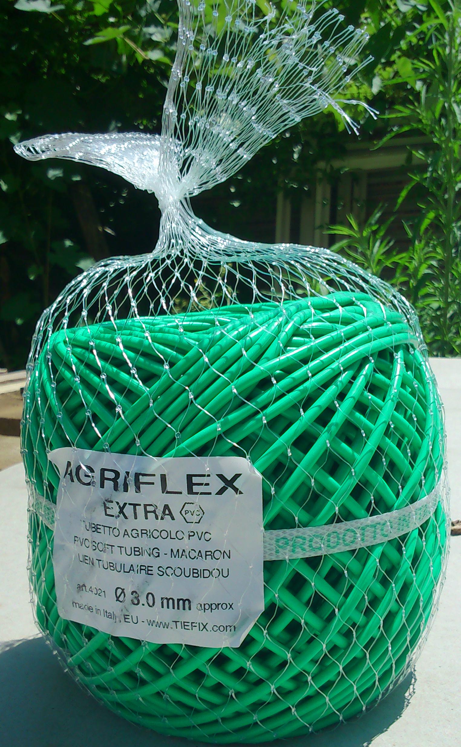 AGRIFLEX tubetto PVC - gomitolo in rete